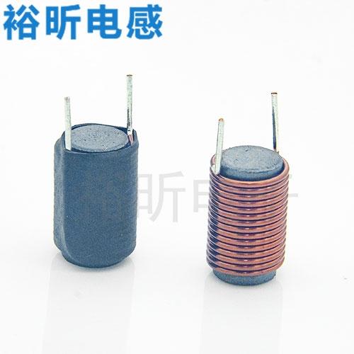 工字电感的缠线状况是依据工字电感的感量缠线而定的